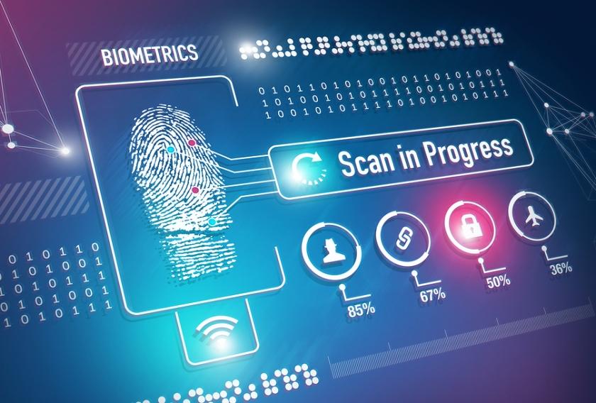 Biometrics Fingerprint Scanning